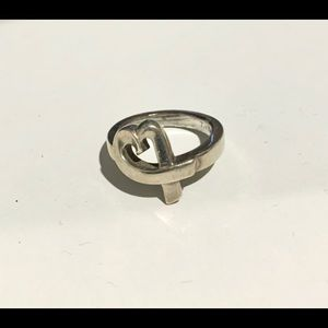 TIFFANY & CO. Paloma Picasso Heart Ring Size 7